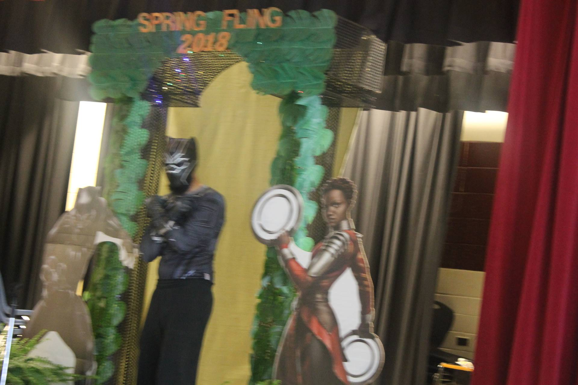 Mr. Ford as Black Panther